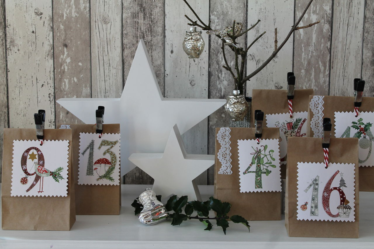 diy adventskalender mit liebe freude schenken cuplovecake. Black Bedroom Furniture Sets. Home Design Ideas