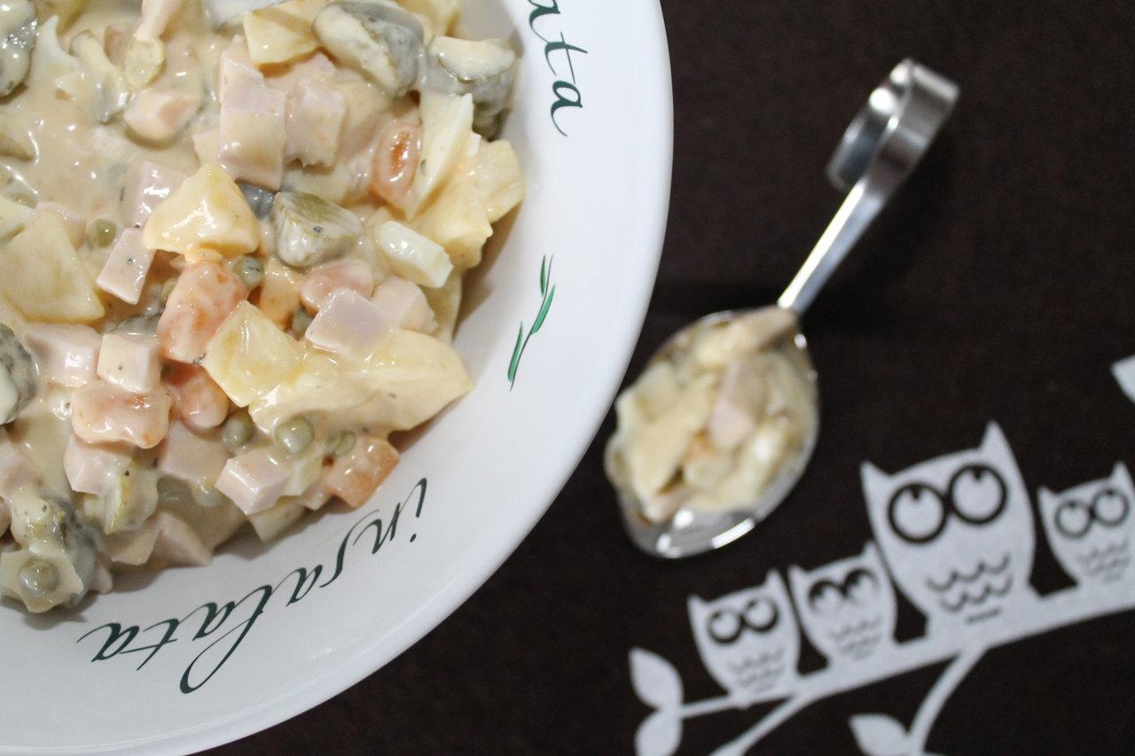 Rezepte aus der Heimat: Russischer Salat | cuplovecake