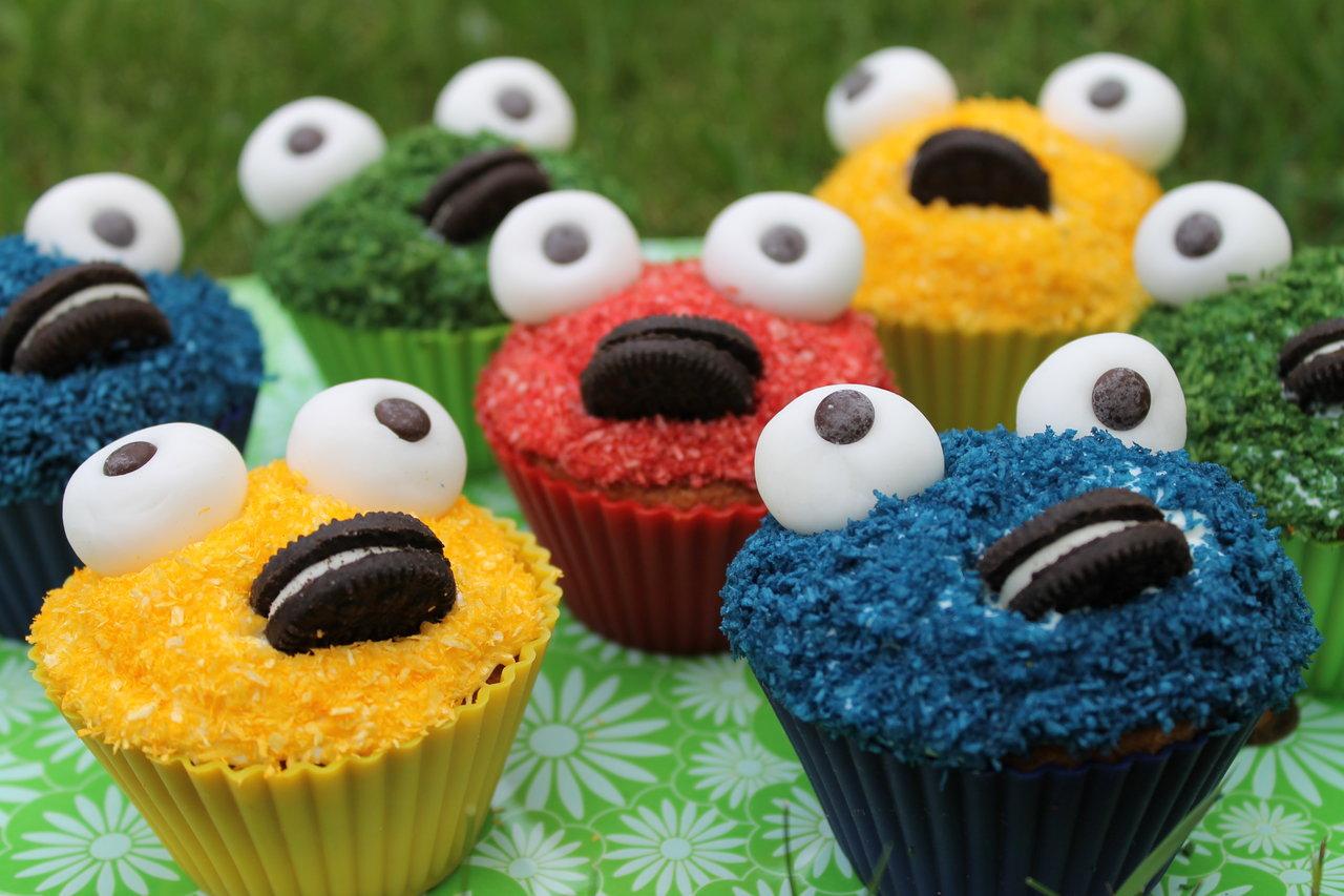 Lea Backt Krumelmonster Cupcakes Cuplovecake