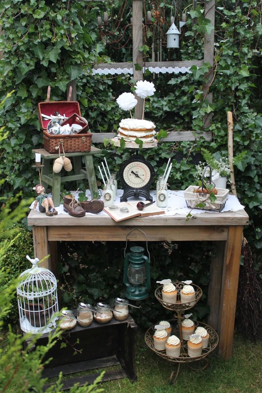 Basteln und dekorieren - Gartendeko vintage ...