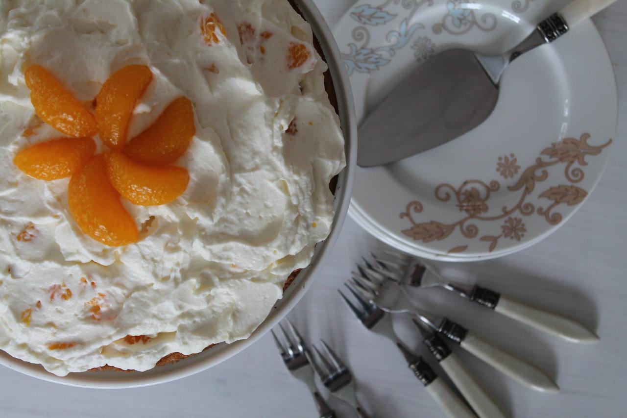 Mandarinen Cuplovecake