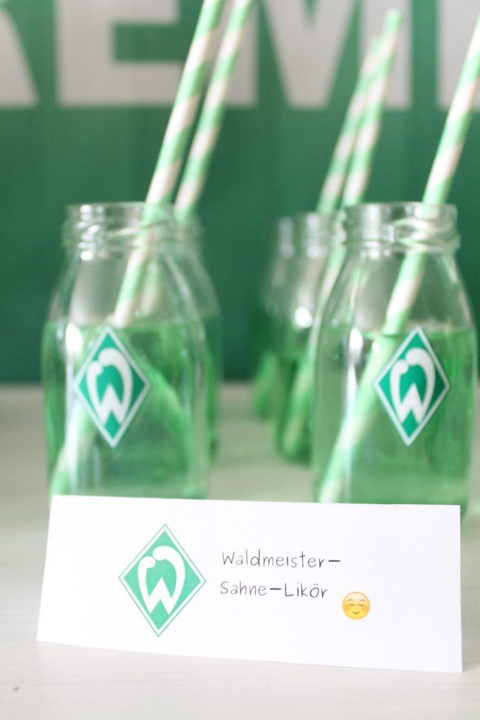 Werder Bremen Sweet Table Zum 18 Geburstag Cuplovecake